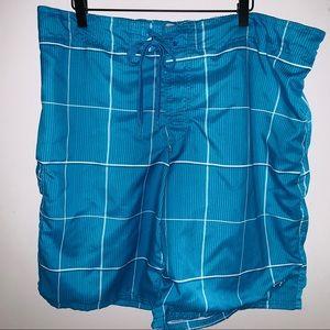 OP Multicolored Men's Boardshorts Sz. XL